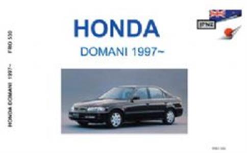 HONDA Domani 1997-2000 Translated Owner's Handbook