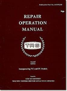 Triumph TR6 Factory Repair Manual incl TC & PI