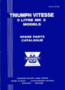 Triumph Herald 13/60 Spare Parts Catalogue