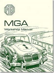 MG MGA 1500 1600 & Mk2 Factory Workshop Manual