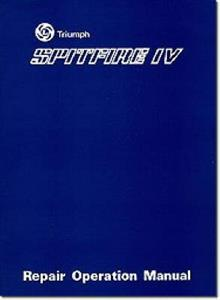 Triumph Spitfire Mk4 Factory Repair Manual