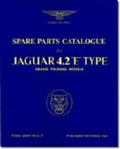 Jaguar E Type 4.2 Series 1 Spare Parts Catalogue