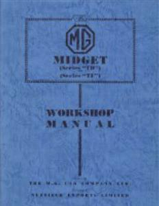 MG Midget TD & TF Workshop Manual
