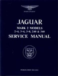 Jaguar Mk 2 Factory Service Manual 2.4 3.4 3.8 240 340
