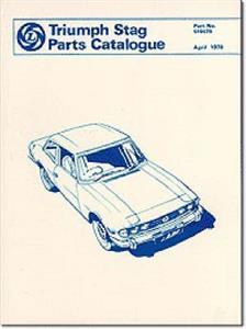 Triumph Stag Spare Parts Catalogue