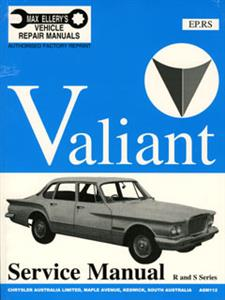 Chrysler Valiant R & S 1961-63 Shop Manual