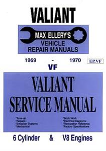 Chrysler Valiant VF 1969-70 Shop Manual 6 & 8 Cylinder