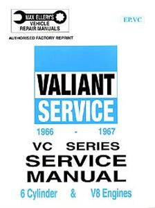 Chrysler Valiant VC 1967-68 Shop Manual 6 & 8 Cylinder