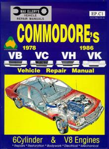 Holden Commodore VB VC VH VK 1978-86 Repair Manual 6 & 8 Cylinder