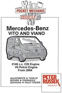 Mercedes Benz Vito & Viano 2004-07 Pocket Workshop Manual