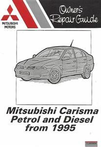 Mitsubishi Carisma 1995on Pocket Repair Manual Petrol And Diesel