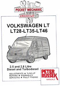 Volkswagen LT28 LT35 & LT46 1997-2002 Pocket Workshop Manual