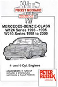 Mercedes Benz E Class 1993-2000 Repair Manual W124 And W210 4 And 6 Cylinder