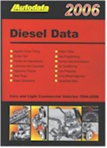Autodata Diesel Data 2006 OUT OF PRINT