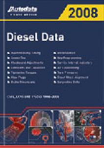 Autodata Diesel Data UK 2008 Cars LCVs And Trucks 1996-2008