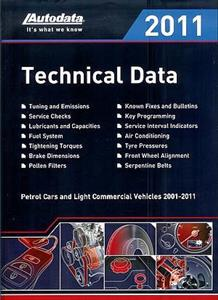 Autodata Technical Data 2011 UK Version