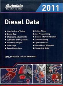 Autodata Diesel Data 2011 UK Edition