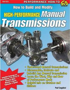 How To Build And Modify High Performance Manual Transmissions