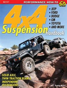 4x4 Suspension Handbook Jeep Ford Dodge GM Toyota And More OUT OF PRINT