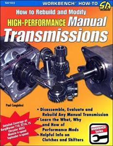 How to Rebuild And Modify High Performance Manual Transmissions 2nd Ed