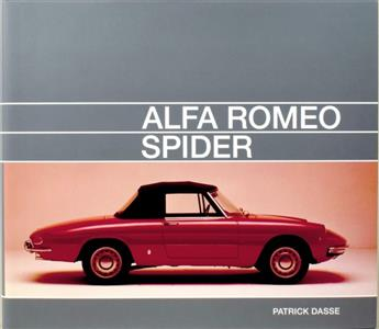 Alfa Romeo Spider ENGLISH/GERMAN