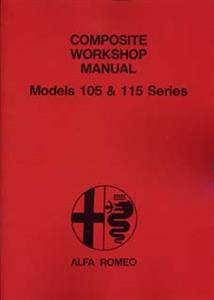 ALFA ROMEO 105/115 Series Giulia 1966 Shop Manual
