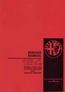 ALFA ROMEO 164 3 Litre V6 24 Valve Shop Manual Supplement