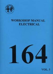 ALFA ROMEO 164 3 Litre V6 Electrical Shop Manual