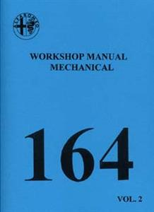 ALFA ROMEO 164 3 Litre V6 Mechanical Shop Manual