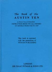 AUSTIN 10 1932-47 Shop Manual Reprint