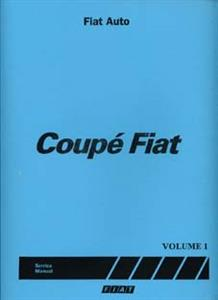 FIAT Coupe Shop Manual Reprint 3 Volumes Coverrs 16v & 20v