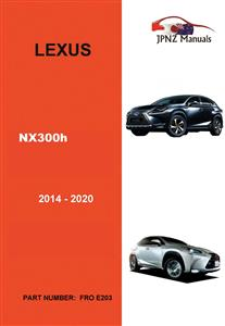 Lexus NX300H 2012-2020 Translated Owner's Handbook