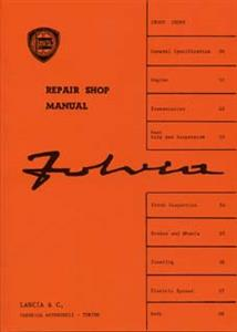 LANCIA Fulvia Repair Shop Manual Reprint Incl Supplement