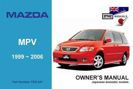 Mazda MPV 1999-2005 Translated Owner's Handbook