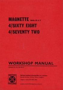 MG Magnette Mark III & IV And Riley 4/68 & 4/72 1969 Shop Manual Reprint
