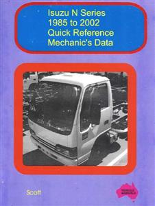 Isuzu N Series 1985-2002 Quick Reference Mechanics Data