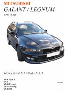 Mitsubishi Galant/Legnum 1996-2003 Translated Repair Manual